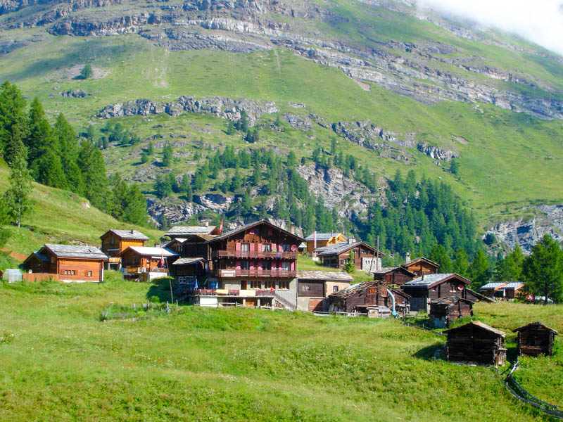Hiking Swiss Alps from Chamonix to Zermatt