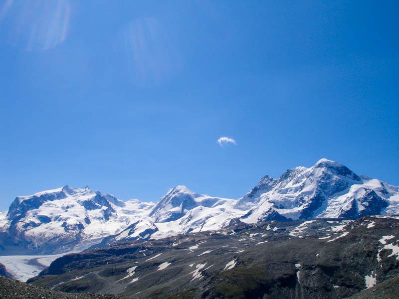 Mountain Landscape in the Haute Route