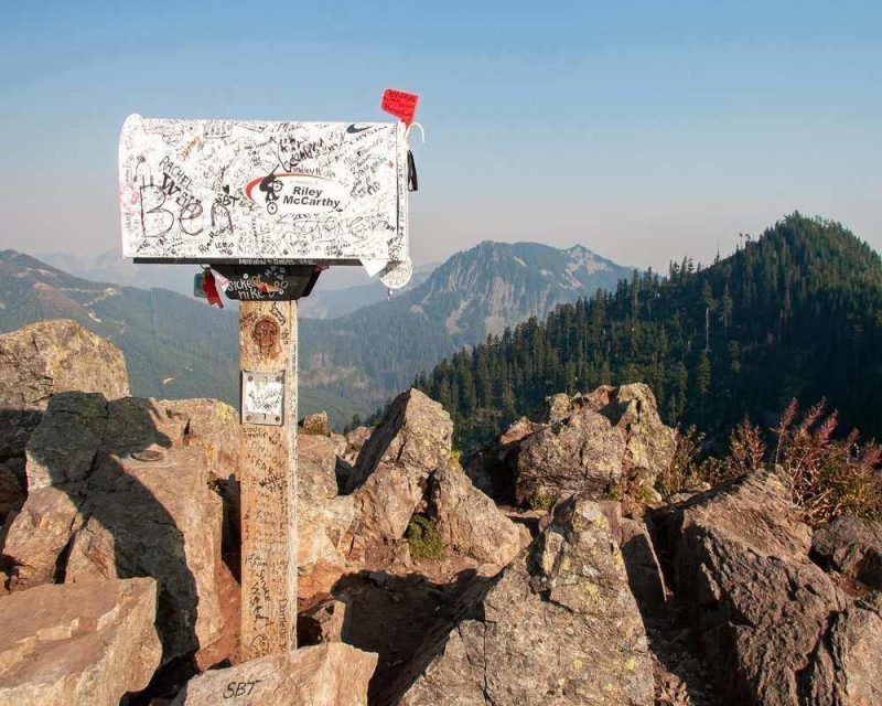 Mailbox Peak is a difficult hike located near Seattle