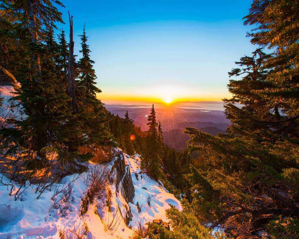 Mt. Pilchuck is one of the most popular moderate hikes near Seattle. It is also great for snowshoeing in winter.