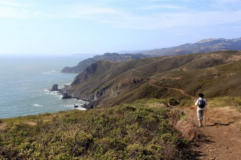 Hiking in Sausalito to Muir Beach