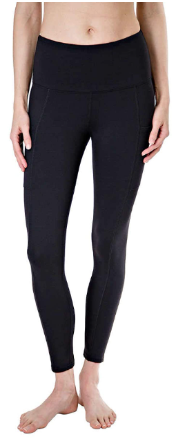 A lightweight legging is versatile for warmer months.