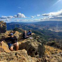 Hiking in Hood Mountain