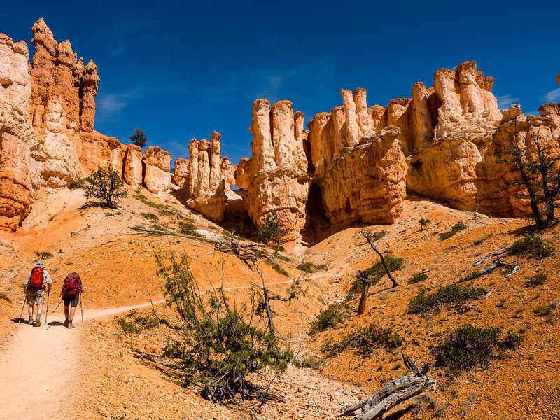 guided hiking tour in Utah