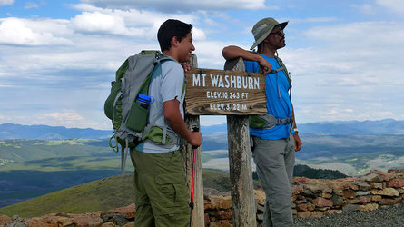 Hikers in Mount Washington