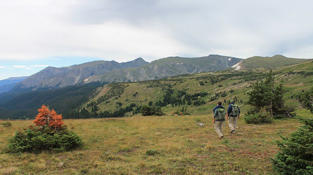 Hiking Tour in the Rocky Mountains