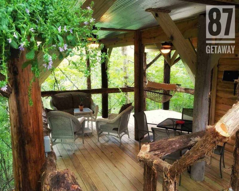 The best part of staying in treehouse rentals is the relaxation that a normal hotel can't offer