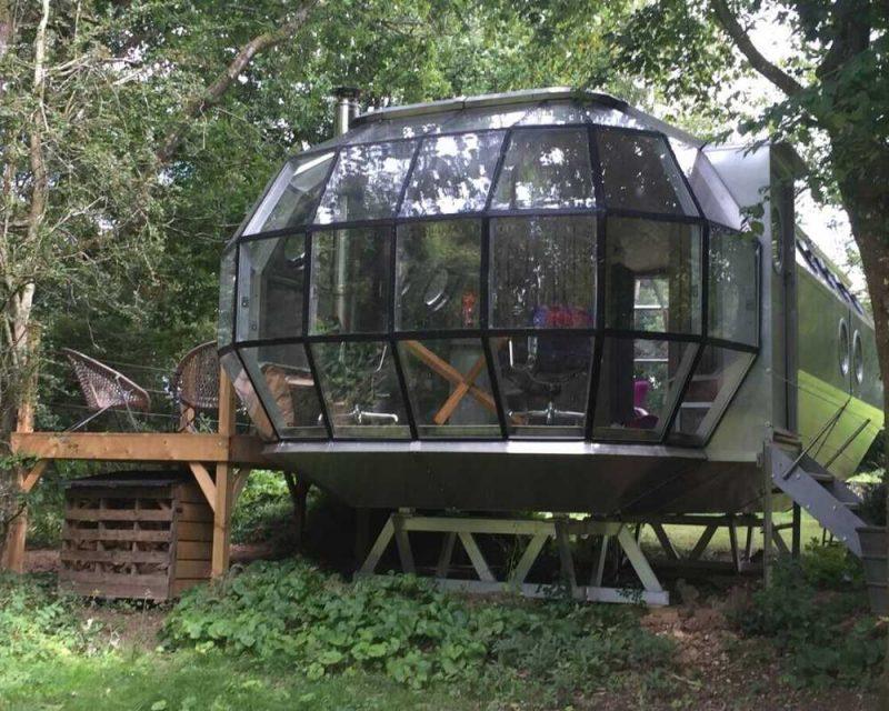 Sleep in an Aluminium Pod, a whole new experience.