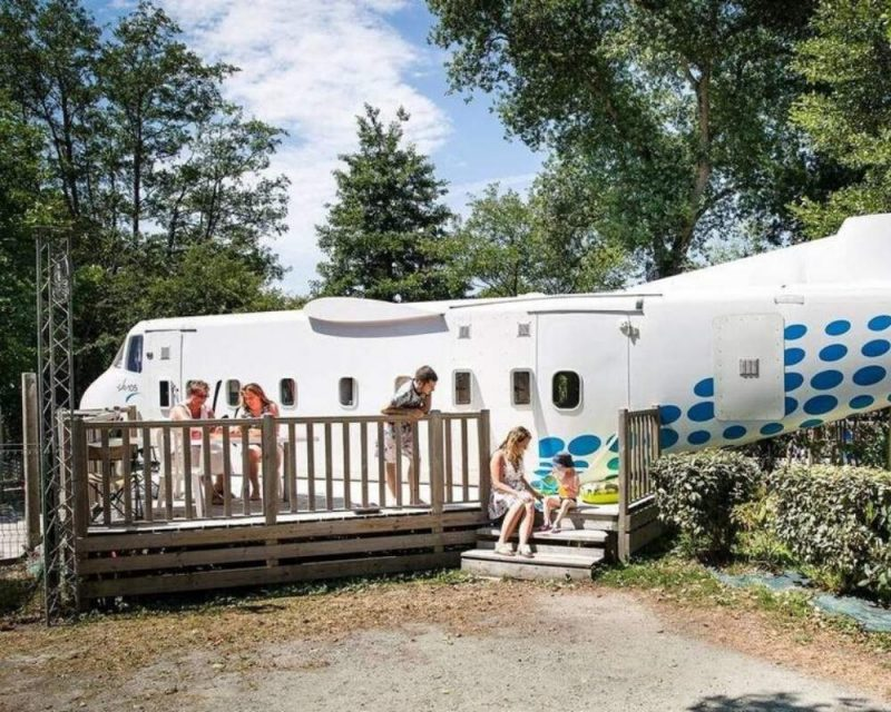 Stay in a plane in France! Just another unique property that you will find on Airbnb