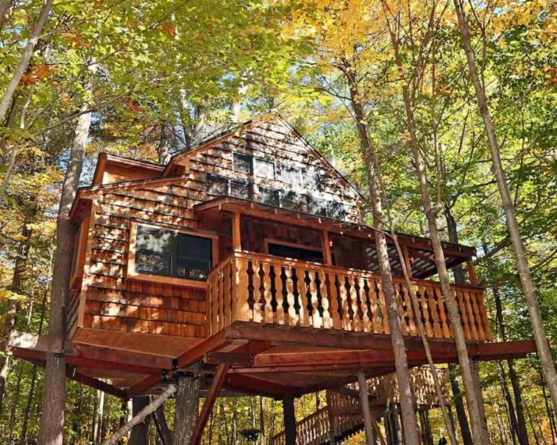 Stay in a Treehouse in the U.S with your Airbnb Discount