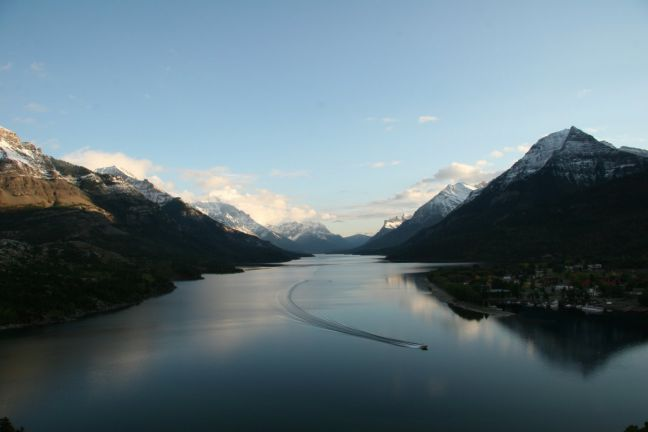 Hiking the Canadian Rockies in Waterton Park