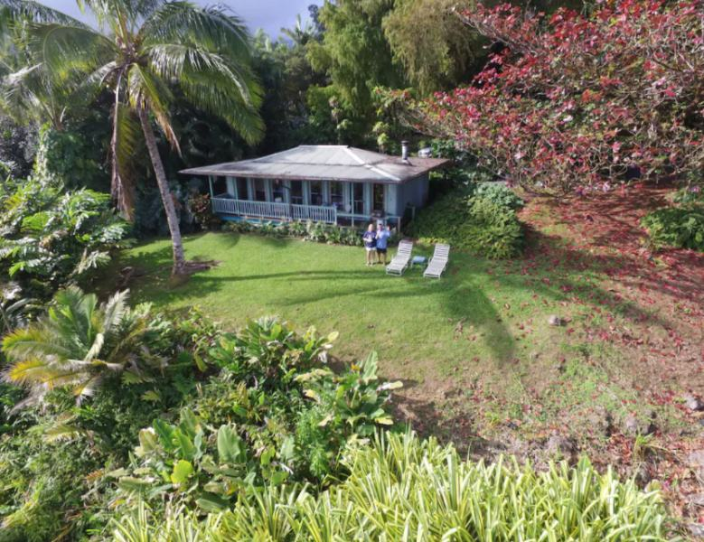 Paradise Ocean View Cottage in Hana Hawaii