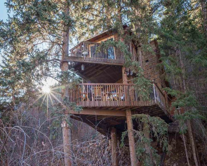 Rocky Mountain Treehouse is a great stay