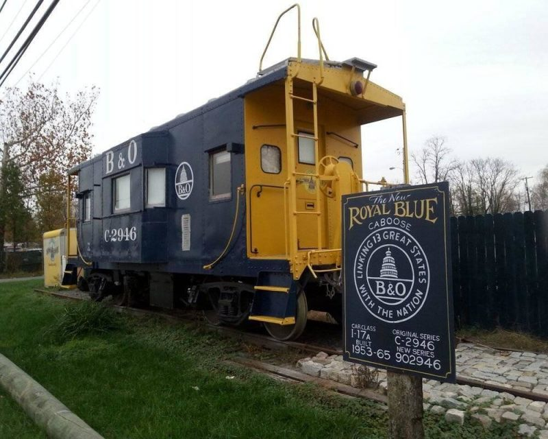 Stay in a Cool Caboose on Airbnb