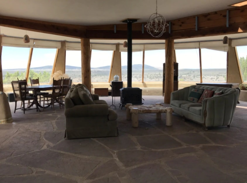 The Dobson House Famous Taos Earthship in New Mexico