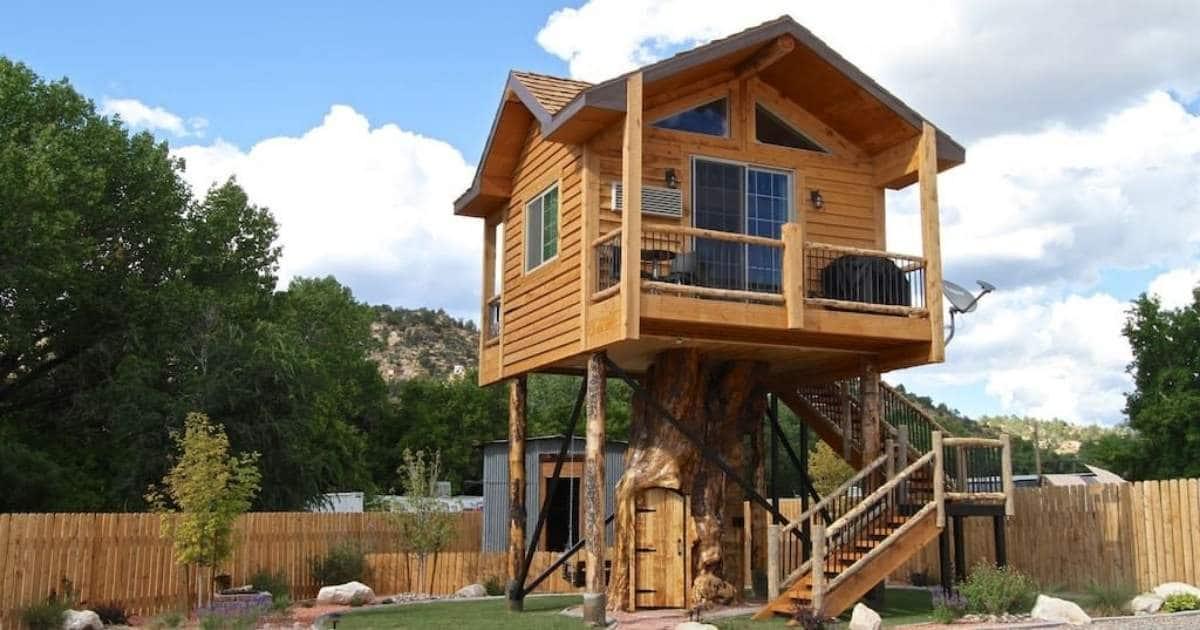 The Treehouse Summary in Utah