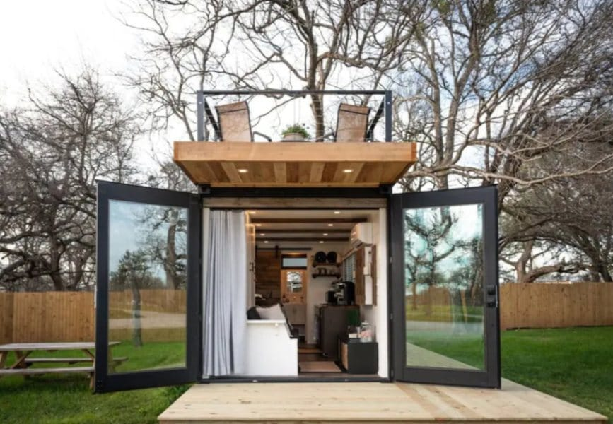 The Helm - 2-Story Container Home in Waco