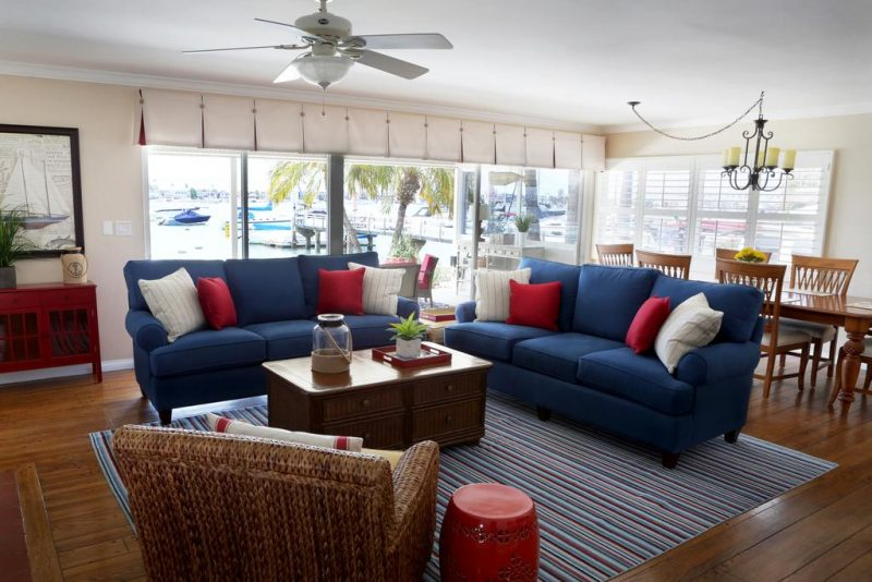 Enjoy great decor at these beach homes
