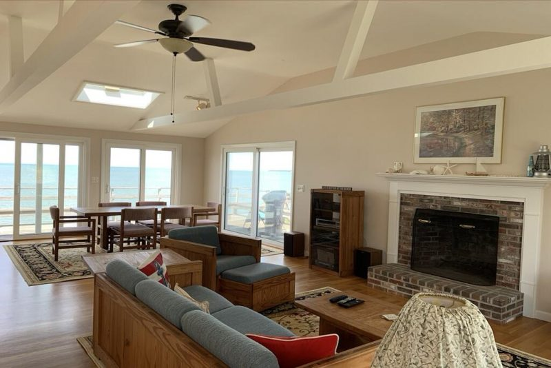 Enjoy a unique stay in one of the best beach homes on the US