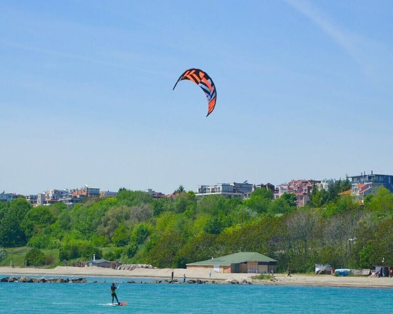Kitesurfing is a great adventure to try in California