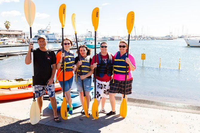 Experience Santa Barbara in a new way with this kayak tour