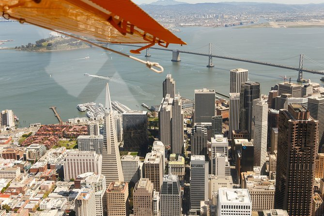 See San Francisco from a Seaplane to have an epic adventure in California