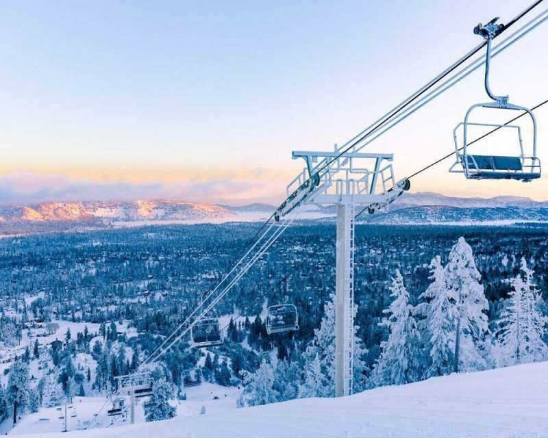 Big Bear Mountain is a great place for your next winter adventure in California