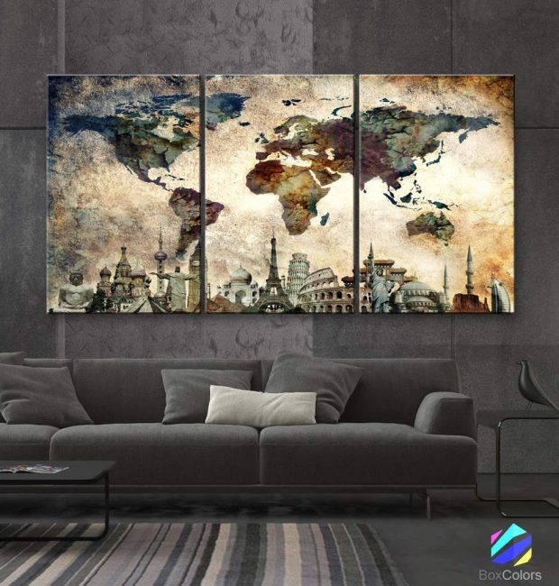 Try adding some travel decor to your home to bring the world into your sanctuary.