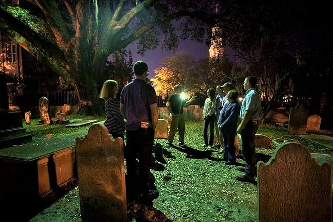 Take a tour of the Graveyards of Charleston.