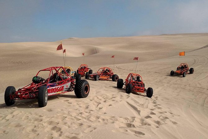 Driving a Dune Buggy on the beach is an epic adventure in California