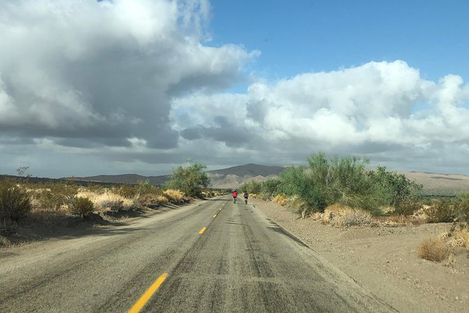 Try a downhill cycling adventure in a desert in California