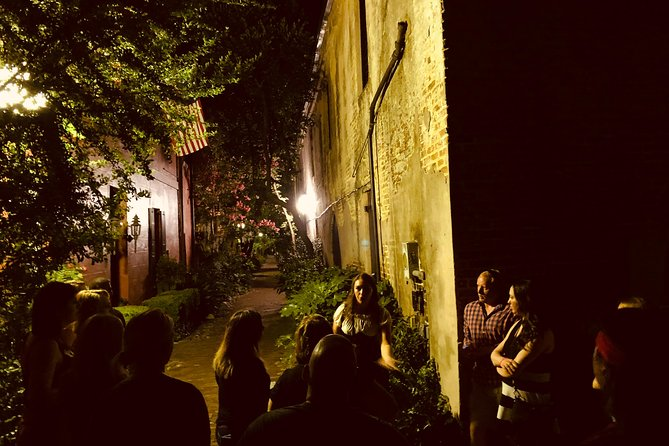 Take a ghost tour of Charleston while visiting some of the best pubs in town.