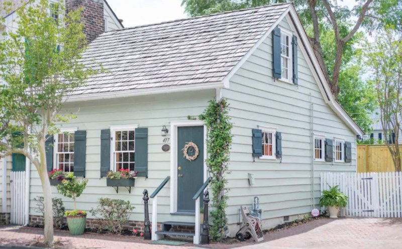 This Historic Cottage is the perfect haunted place to stay.