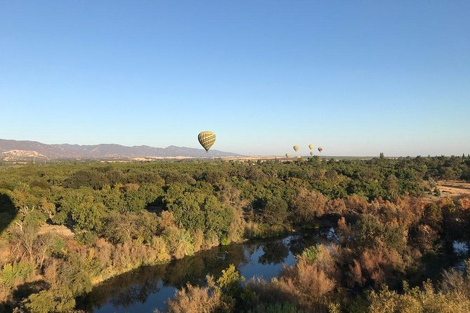 Take a hot air balloon ride for the ultimate adventure in California