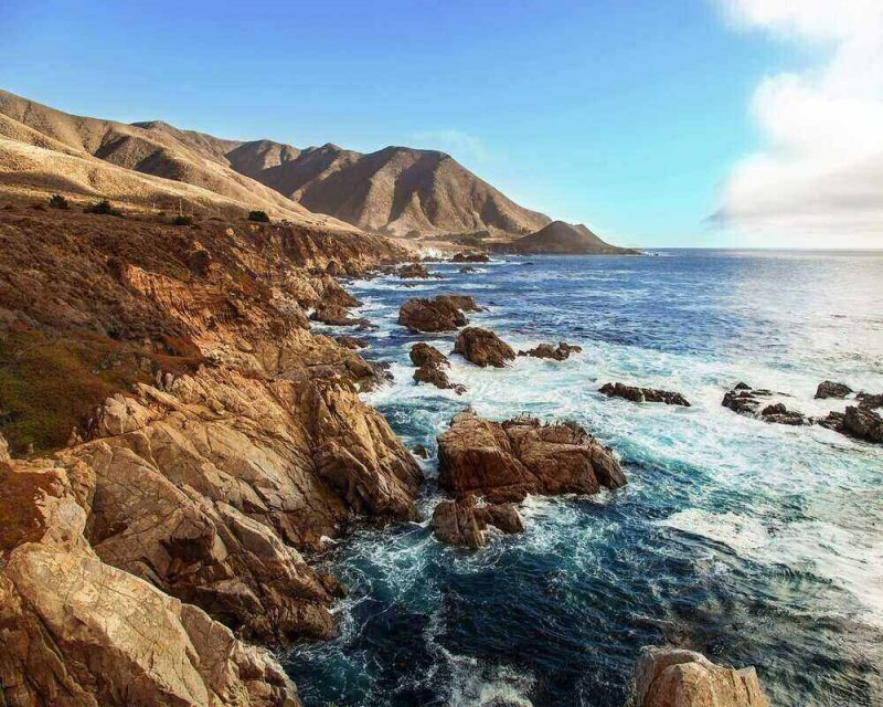 The Pacific Coast Highway is where you will find the Devils Slide Trail