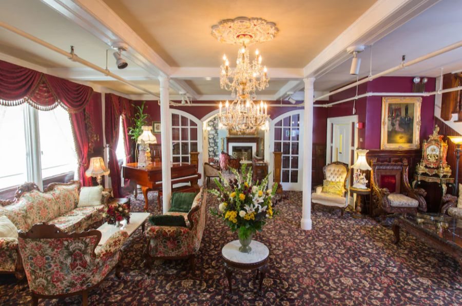 The Queen Anne Hotel is a stunning hotel and haunted
