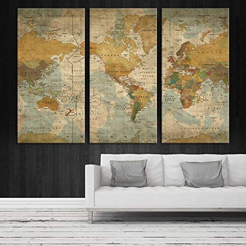 Add a travel related canvas to your home.