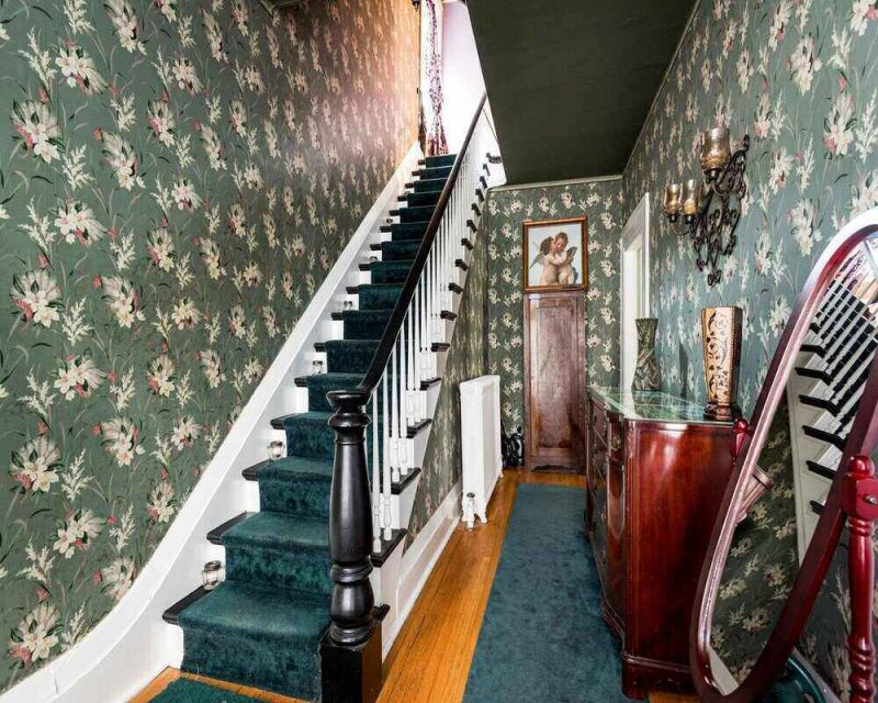 The Enslin Mansion is the perfect creepy and haunted Airbnb for you to stay in this Halloween.