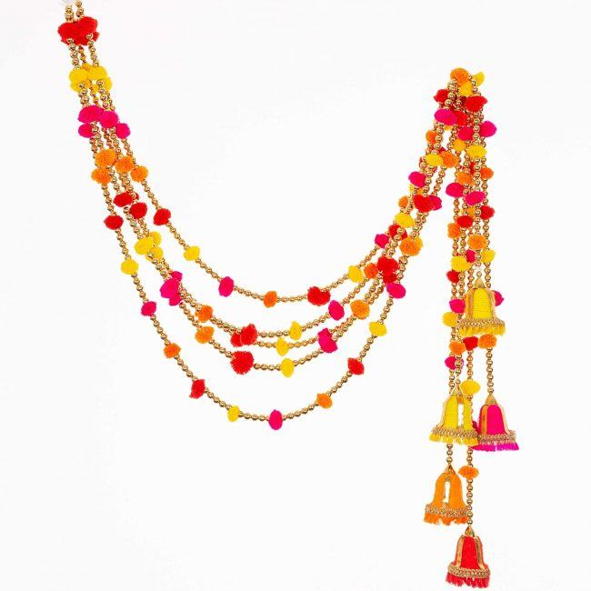 Garlands are the perfect Indian decor for your home or event.