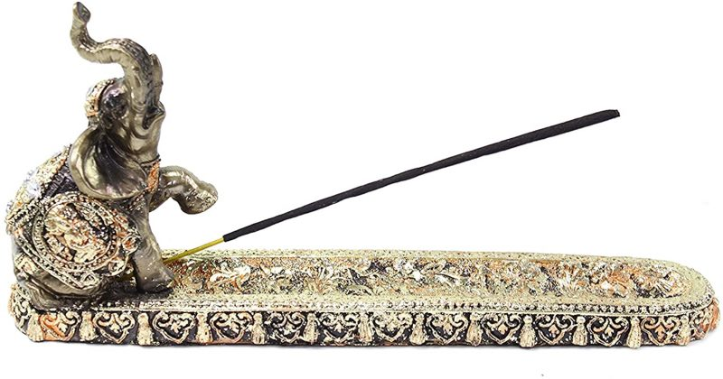 Incense holders are a staple in Indian decor. They add a traditional look to any space.