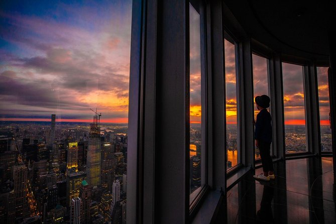 Watch the sun rise over the city that never sleeps from the Empire State Building.