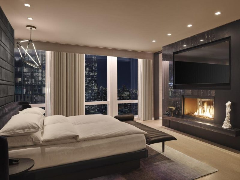 Stunning and restful, the Equinox Hotel is the place to be for the best views of NYC.