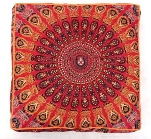 Add a new cover to your floor cushions to brighten up your favourite space.