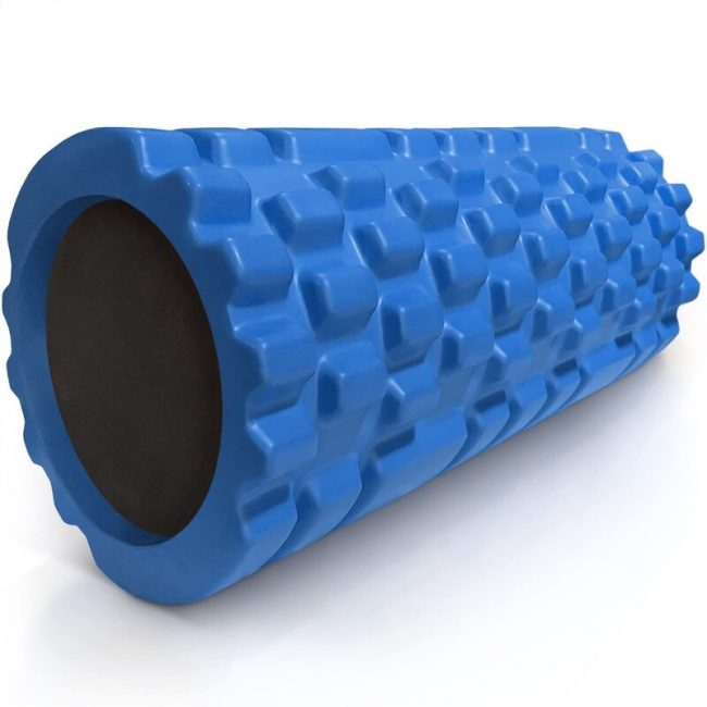 Foam rollers make excellent leg massagers if used properly.
