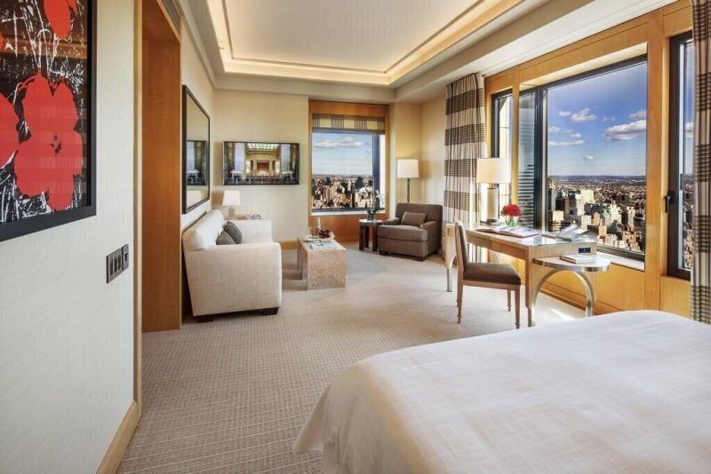 The Four Seasons Hotel New York is the epitome of class and luxury.