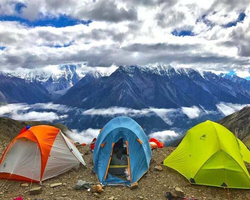 hiking tents come with different features that suit different types of terrain.