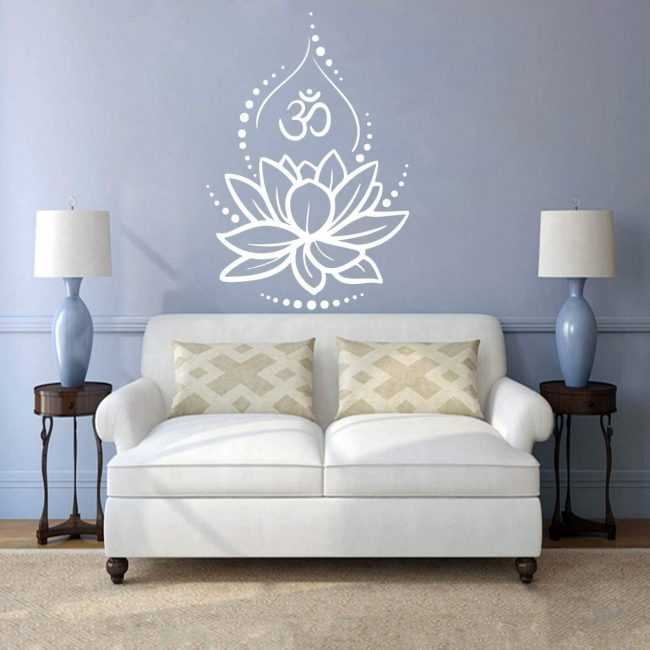 Add Indian inspired wall art to make a space perfect.