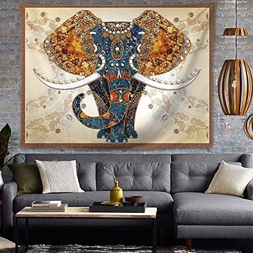 A stunning addition to your home, this elephant tapestry will transform your space.