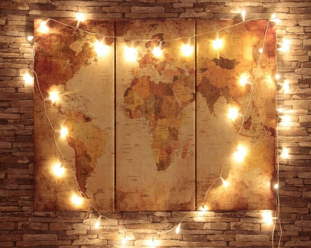 World Map Wallpaper and murals are the best way to bring travel home