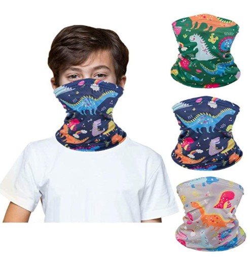 Bandanas are a great gift for outdoorsy kids, and they won't grow out of them in a hurry.